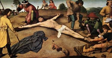 Cristo Clavado en la cruz