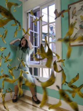 Muerte por cáscaras de plátano