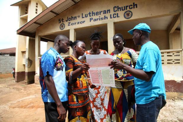 Las 5 medidas de UNICEF para combatir elébola