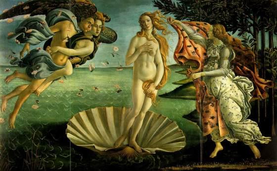 Venus - Sandro Boticelli