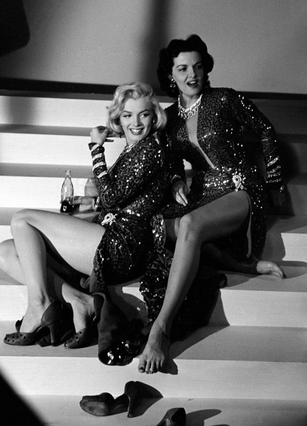 LIFE With Marilyn and Jane: Photos From the Set of 'Gentlemen PreferBlondes'