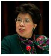 Dra. Margaret Chan Directora General Organización Mundial de la Salud