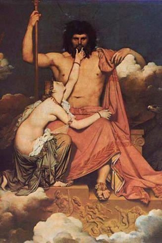 1Júpiter y Thetis