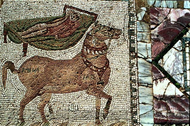 6 Detalle del Mosaico de los Caballos
