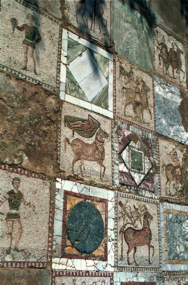 7 Mosaico de los Caballos