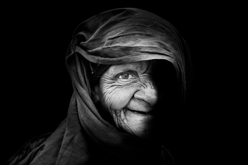 Faces Of Old Delhi,India