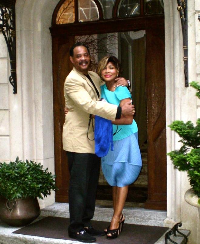 Tina Turner and her son Craig (zurich 2015