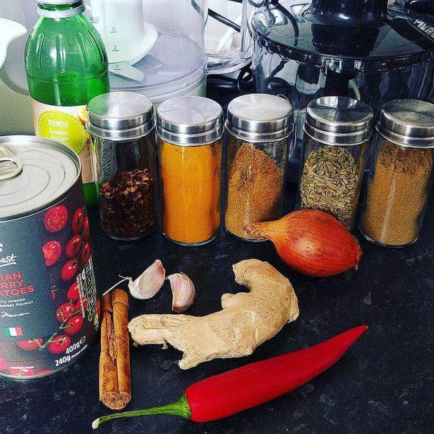 Cómo preparar tu currypersonal