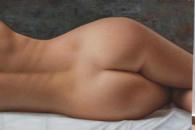 La linea de tu espalda 140 x 180 detalle 03